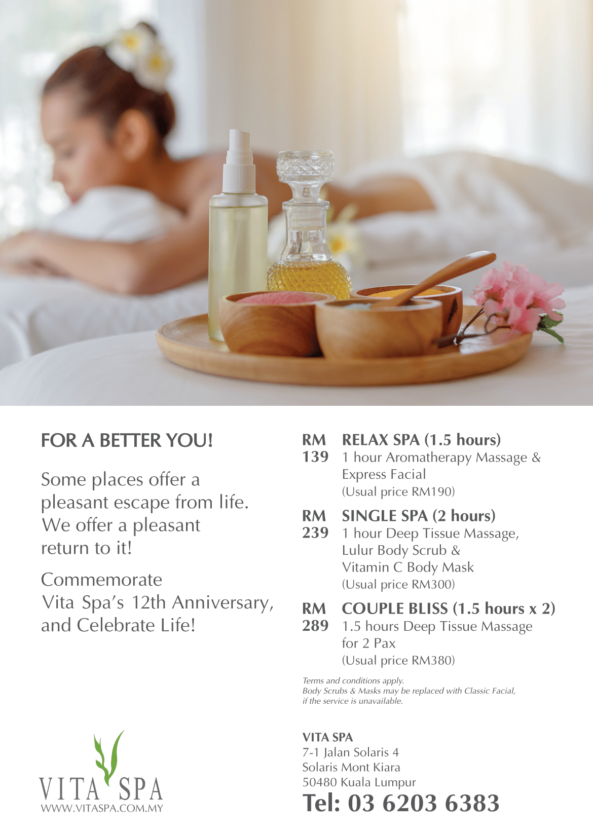 Vita Spa (Solaris branch) Promotion