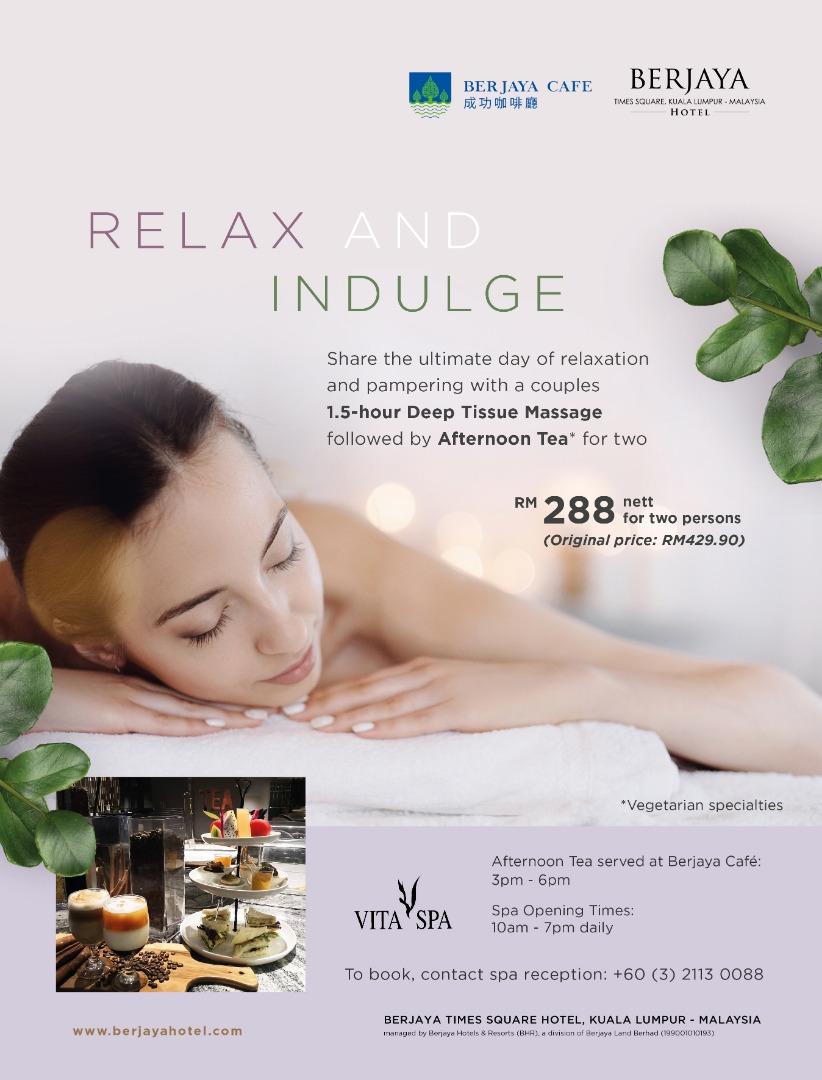 Vita Spa (Berjaya Hotel branch) Promotion
